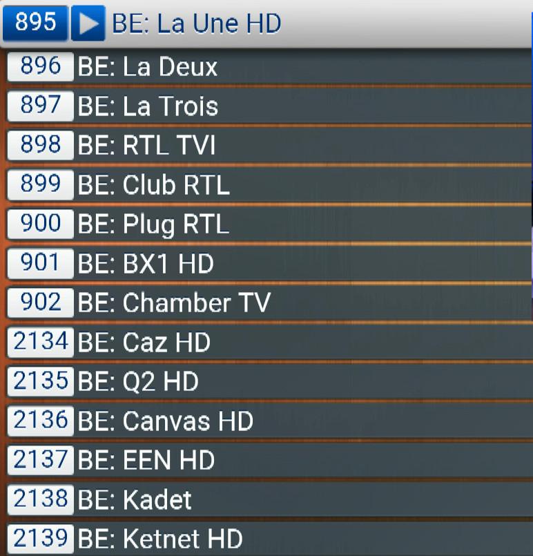 BELGIQUE  ABONNEMENT IPTV PREMIUM