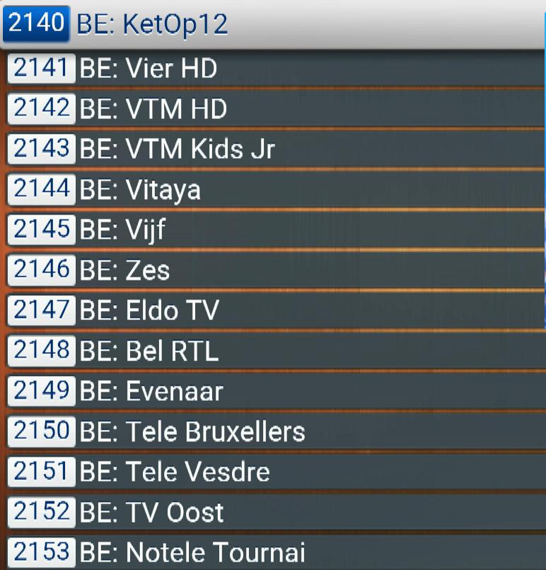 BELGIUM  ABONNEMENT IPTV PREMIUM