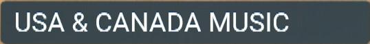 USA AND CANADA MUSIC ABONNEMENT IPTV