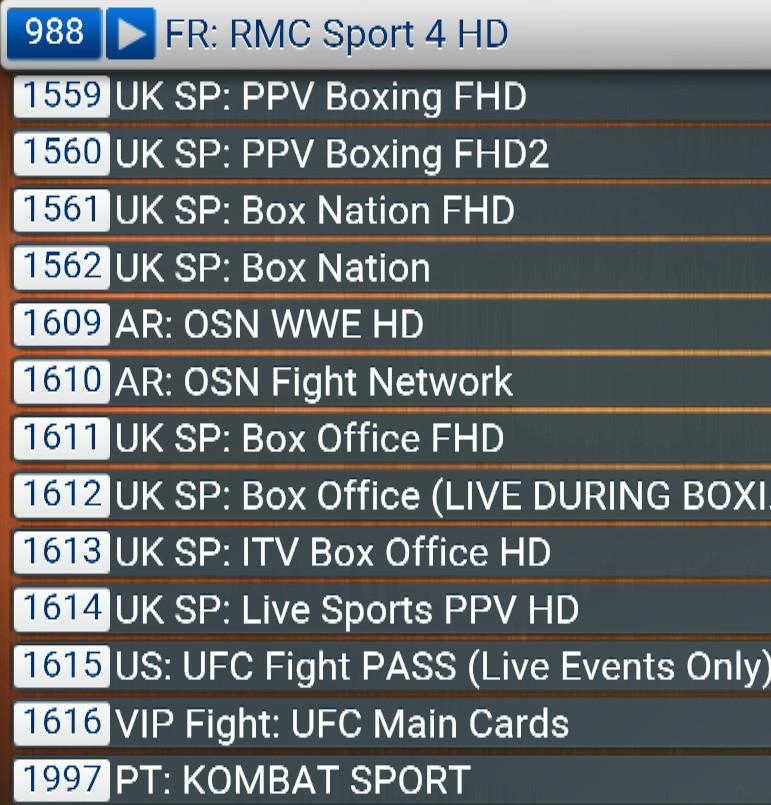 VIP FIGHT BOXING ABONNEMENTSIPTV.COM