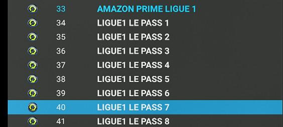 AMAZON PASS LIGUE 1 CHAINES IPTV