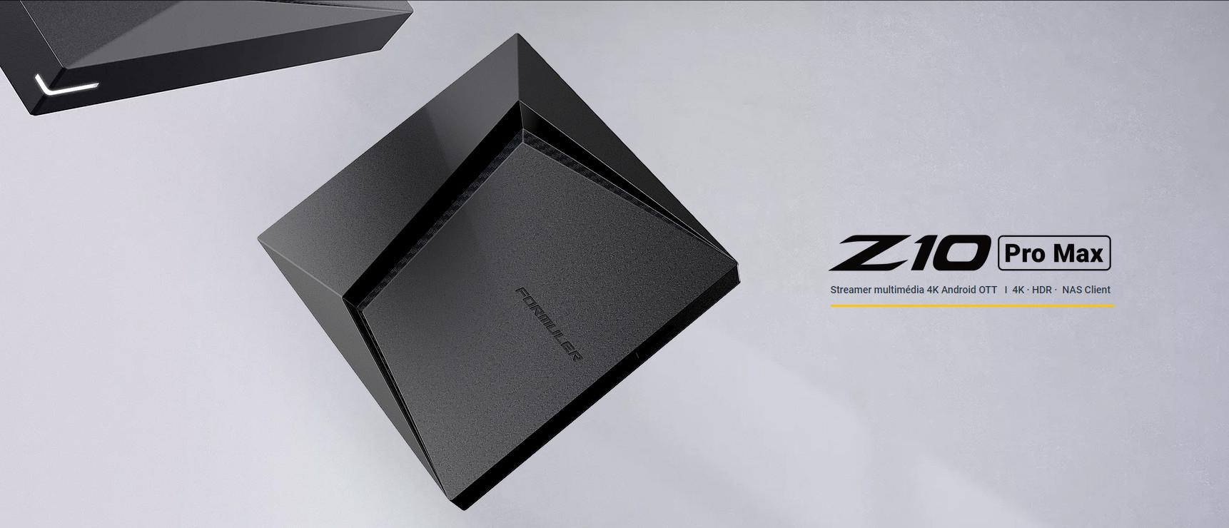 FORMULER Z10 PRO MAX LA ROLLS ROYCE DES BOXES IPTV