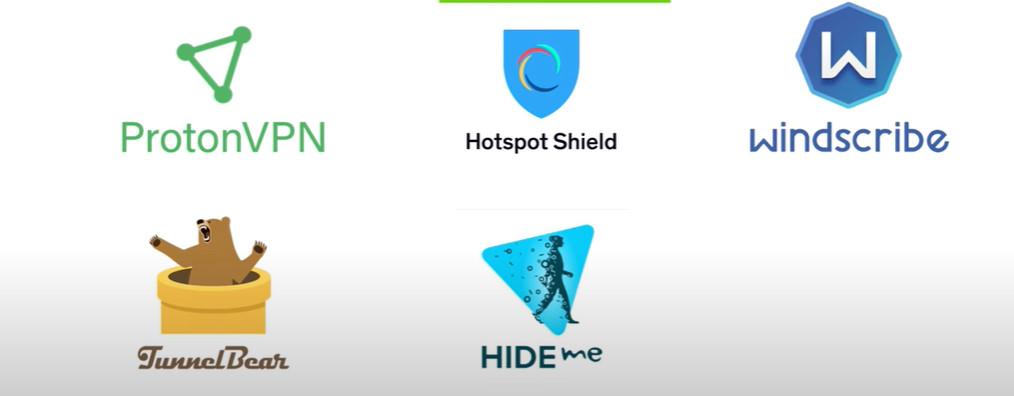 LES 5 MEILLEURS  VPN  GRATUITS  POUR  VOTRE ABONNEMENT IPTV