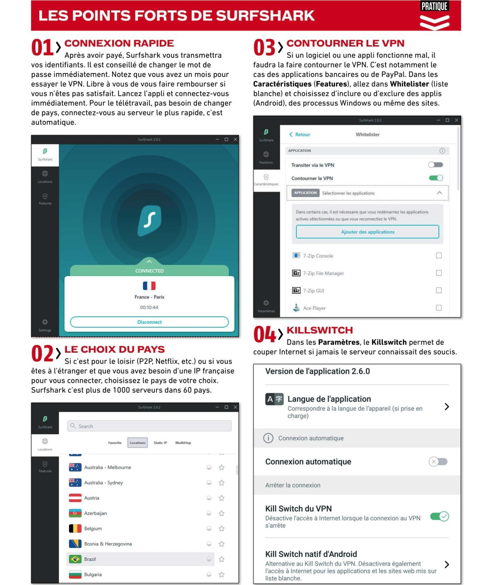 SURSHARK LE NUMERO 1 DES VPN