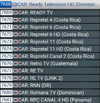 CHAINES TV DES CARAIBES   ABONNEMENTSIPTV.COM