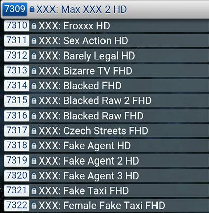 CHAINES TV ADULTES + VOD  1564 FILMS  XXX   ABONNEMENTSIPTV.COM